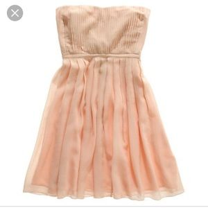 NWT MADEWELL Pink Pleated Storybook Silk Dress